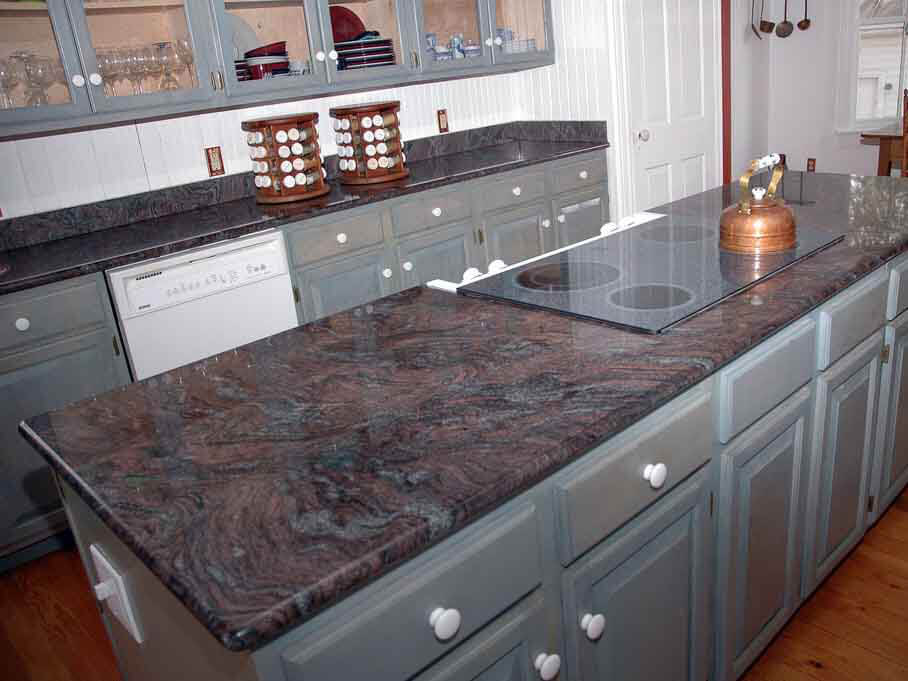 Đá Granite Paradiso Classic ốp bếp
