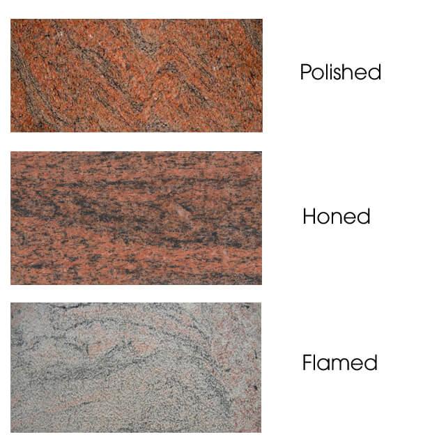 mặt hoàn thiện Đá Granite Red Japarana