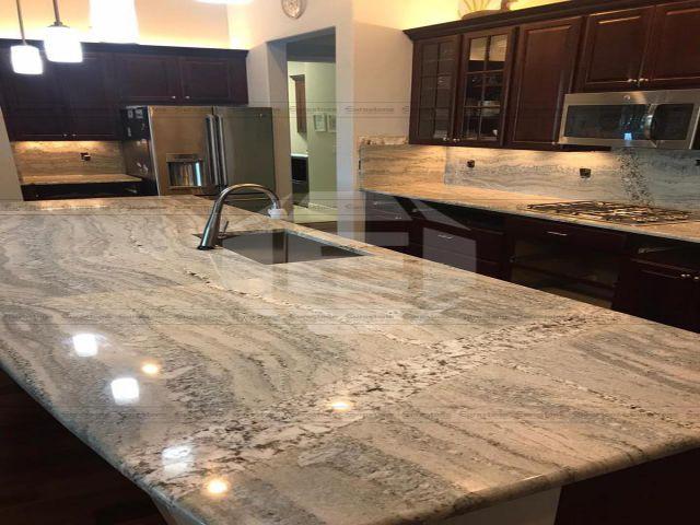 mặt bàn Đá Granite Monte Crystal