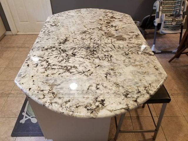mặt bàn Đá Granite White Glimmer