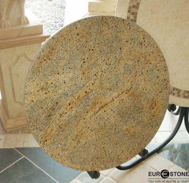 Mặt bàn Đá Tự Nhiên Granite Kashmir Gold
