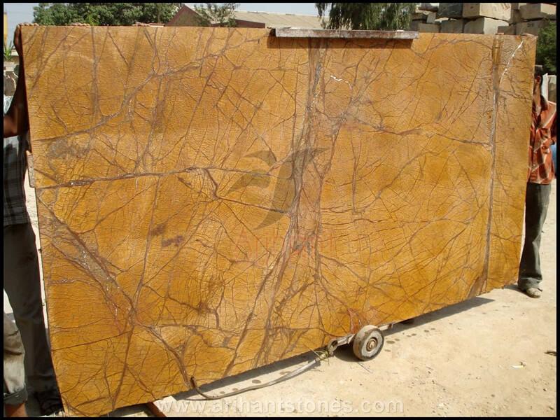 Đá Marble Rainforest Golden Ấn Độ