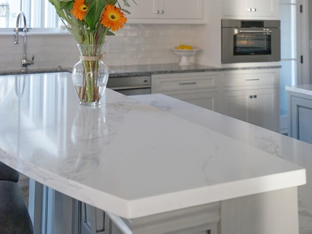 Đá quartz Borghini ốp bếp