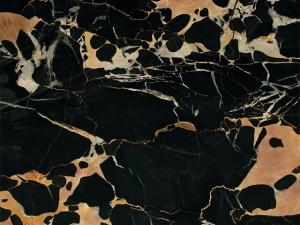 Đá Marble Black Yellow Italya